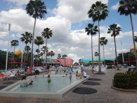 Disney's All-Star Music Resort : piscina guitarra