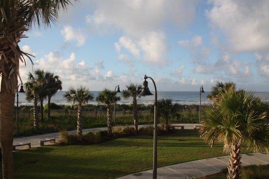 Bermuda Sands Motel: View from Balcony