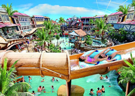 Alton Towers Waterpark : Largest Indoor Waterpark in UK