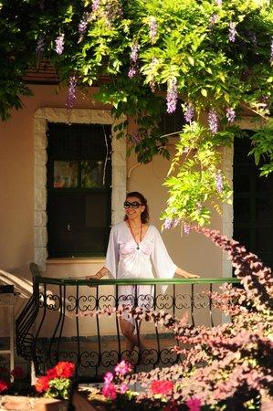 Vento Boutique Hotel: Balcony..