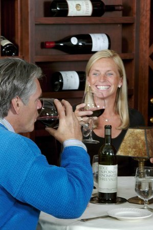 Wine room at Coleman Brook Tavern