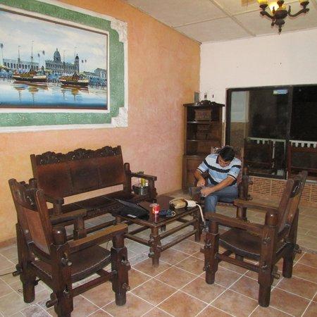 Hotel Marlin : sala de estar en planta alta