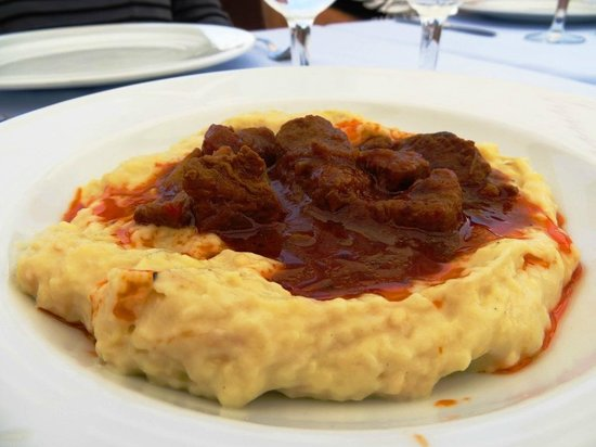 Sarnic Hotel Turkish Cooking Class: August 2012 - Our main dish! So delicious!