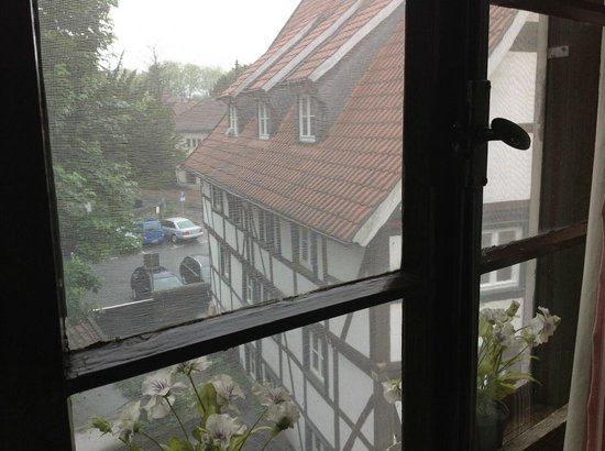 Im Wilden Mann: View from window in Single Room