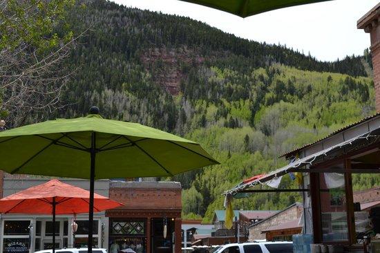 La Cocina de Luz: View from the patio