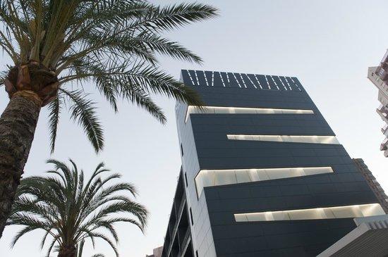 Hotel el Palmeral: vista general del edificio