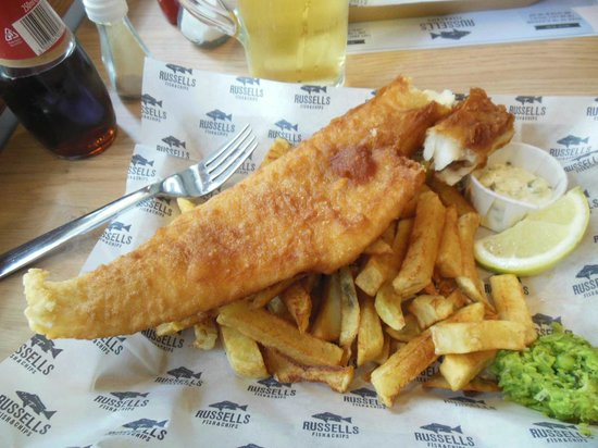 Russell's Fish & Chips: Oh my Cod!