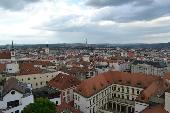Cathedral of St. Peter and St. Paul: Brno - view from the tower