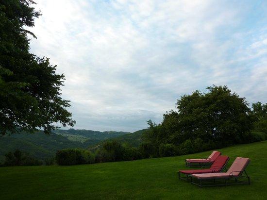Locanda del Gallo: Blick von der Terrasse