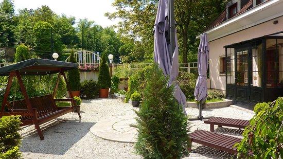 Hoffmeister & Spa: Le jardin