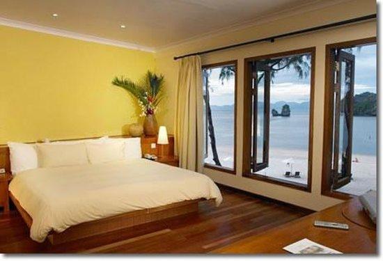 تانجونج رهو ريزورت: bedroom