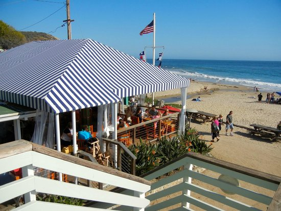 The Beachcomber Restaurant At Crystal Cove Picture Of