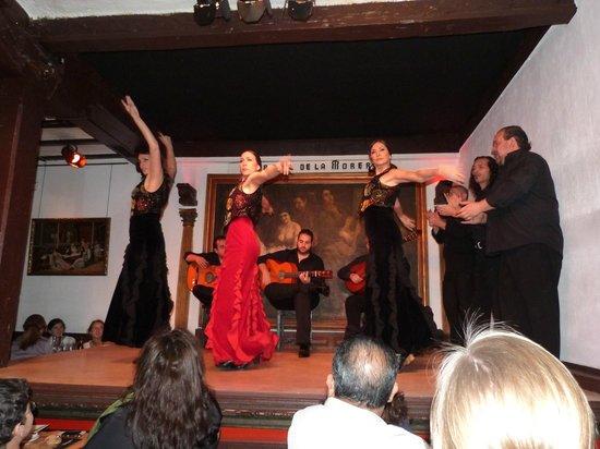 corral de la moreria - flamenco, cena y vino