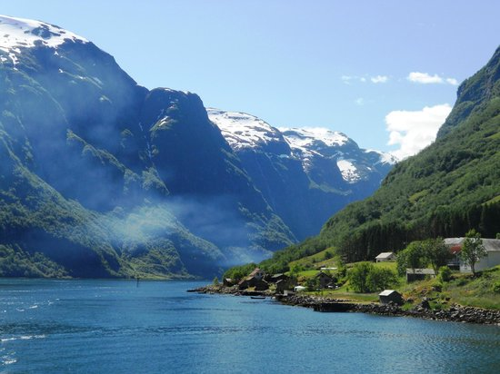 how to go to norway from uk