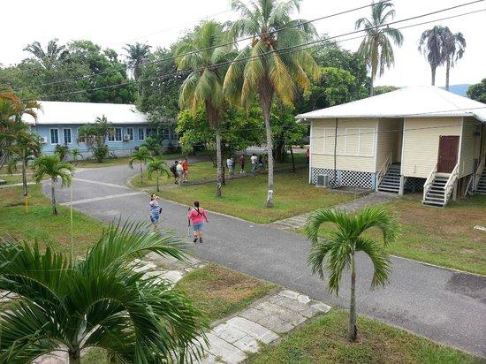 Telamar Resort : El area de las villas donde se puede caminar o correr haciendo ejercicio