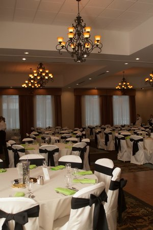 Comfort Suites Cicero - Syracuse North: Our wedding reception in the grand ball room