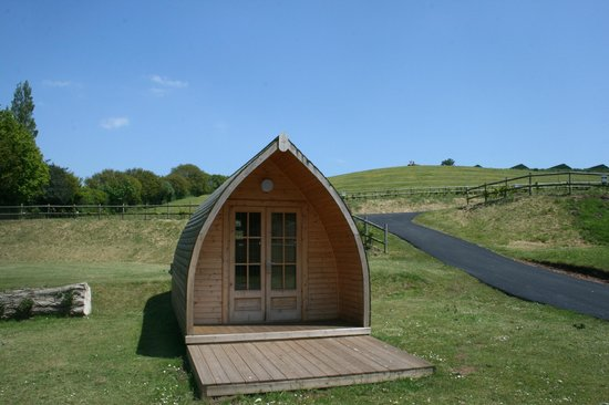 Lady's Mile Holiday Park: Try our camping pods