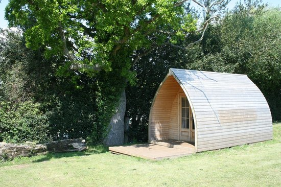 Lady's Mile Holiday Park: Camping pod