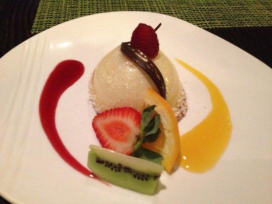 Kō Restaurant : Ginger cheesecake!