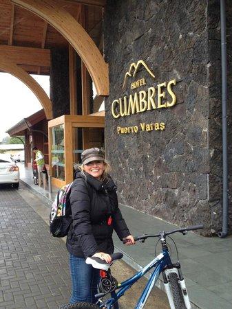 Hotel Cumbres Puerto Varas: dia de bicicleta