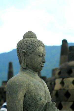 Candi Borobudur: Buddha in Borobudur