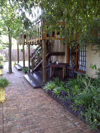 Midrand Wild Goose B&B: Entrance to room 1 and 2