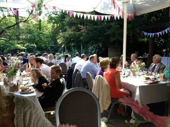 Eleven Didsbury Park : Wedding reception