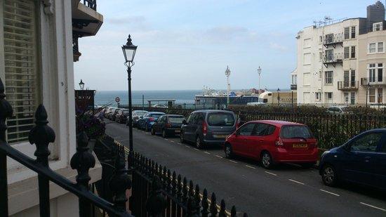 Marine View Hotel Brighton : View from breakfast