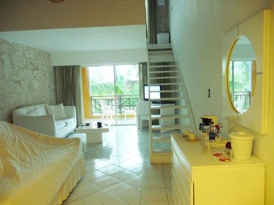 Caribe Club Princess Beach Resort & Spa: Suite Honey moon, bloc Cayenne