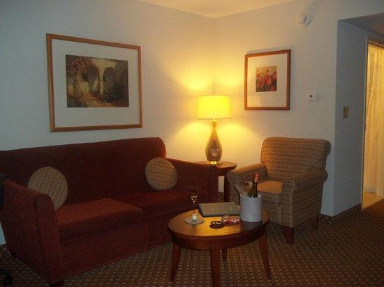 Hilton Garden Inn Macon / Mercer University: Suite entrance