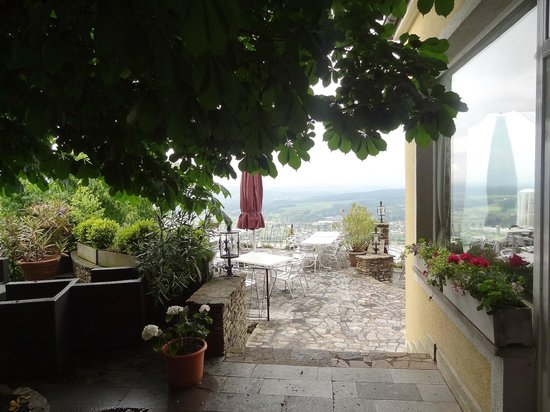 Hotel Rose : other terrace