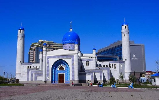 Atyrau, Kazakhstan: Manjali Mosque 1