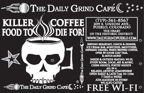 Daily Grind Cafe : small ad
