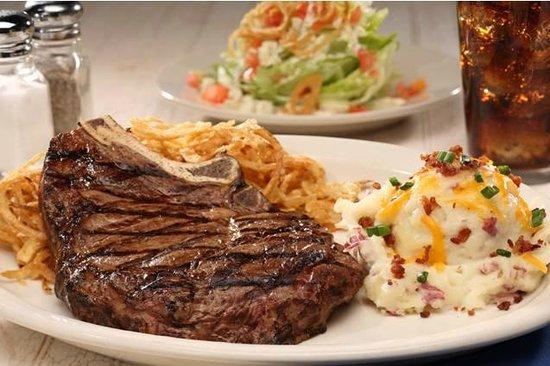 Sagebrush Steakhouse: Cowboy Ribeye