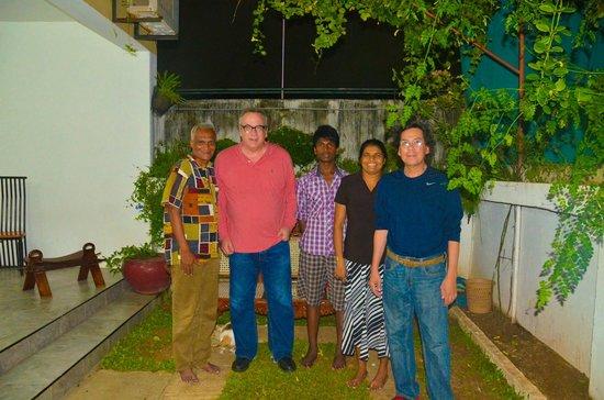 Colombo Haven Bed & Breakfast: Last night
