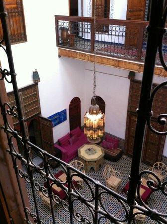Dar Iman: View of courtyard