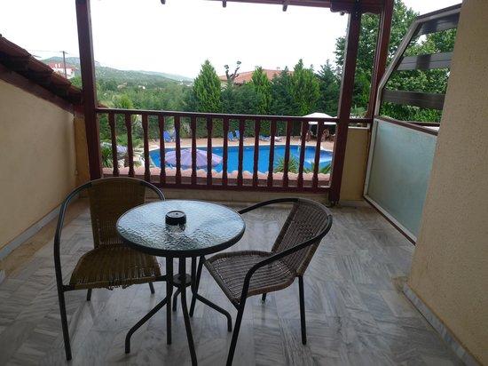 Hotel Famissi Eden: Balcony