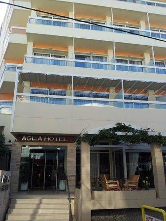 Agla Hotel: Facciata