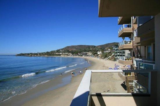 Pacific Edge on Laguna Beach, a Joie de Vivre Hotel: Laguna Beach Sicht aus unerem Zimmer
