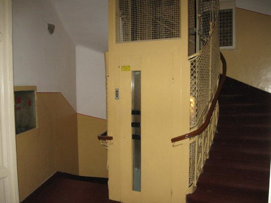 Banat: elevator from the '50s