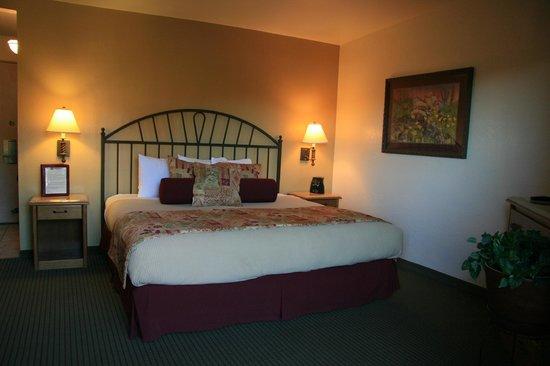 Matterhorn Inn: Unser geräumiges Zimmer