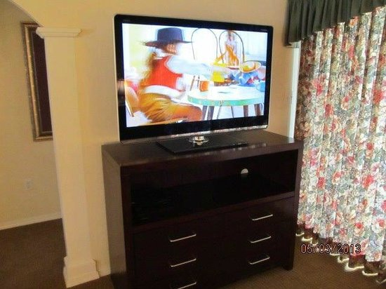 Suites at Fall Creek: Some new furniture and flat screen televisions in place