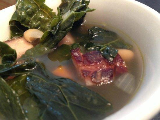 Walkers Farm Kitchen: Portuguese Kale, Ham & White Bean Soup