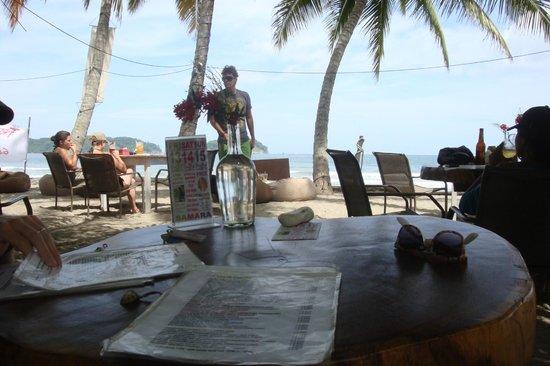 El Pequeno Gecko Verde : local restaurant in samara (not at resort)