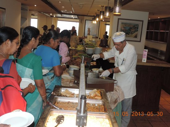 Nazareth Ilit Plaza Hotel: Nice hot food