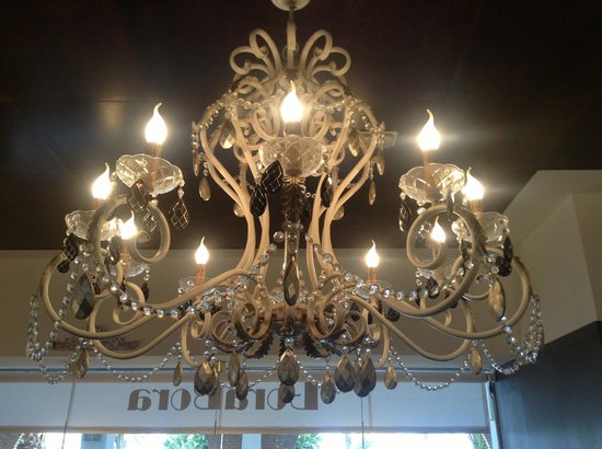 Cafeteria Borabora: lámpara bora bora