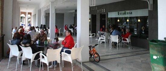 Cafeteria Borabora: clientes