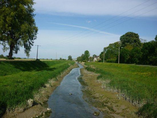 Aux Rives de Honfleur : Cours d'eau proche du gite