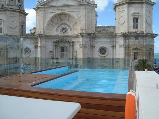 Hotel La Catedral: Blick von der Dachterrasse