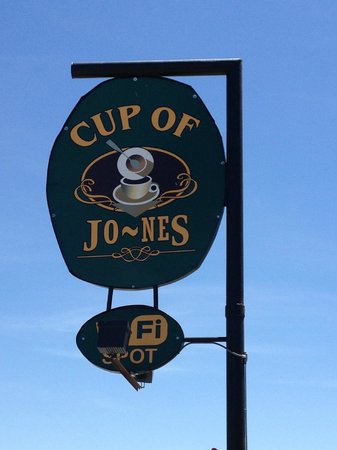 Cup of Jones: Look for this sign!